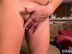 USAwives Penny Priet impressive Solo have fun pornography vid