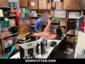 Shoplyfter - Caught Red-Handed And Bribed To pound