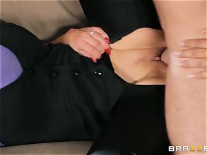 Nikki Benz and Bridgette B get filthy with the security boy