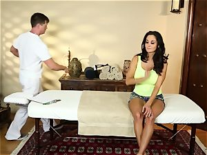Ava Addams in the massage apartment