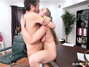 kinky schoolgirl Lena Paul torn up by headmaster