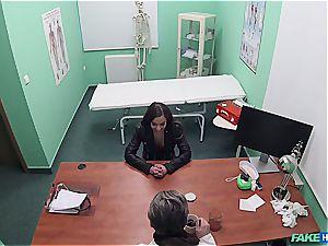 Hidden web cam fuckfest in the doctors office
