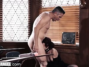 punk jerking In Detention is anally penalized