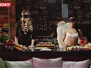LETSDOEIT - orgy Cooking With honies Apolonia and Angel