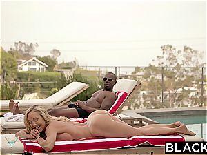 BLACKED cuckold milf Brandi enjoys very first big black bone