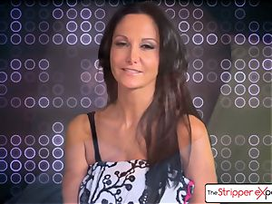The Stripper experience- Ava Addams and get a super-cute plumb