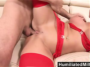 HumiliatedMilfs insane secretary likes a humungous pipe