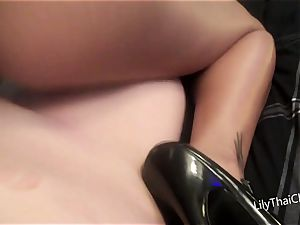 big-chested asian milf Lily Thai pov dt And plumb