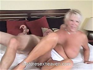 grandmother Getting Laid While Her hubby observes