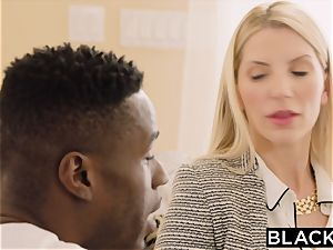 BLACKED torrid nymphomaniac Cant Keep Her palms Off The bbc