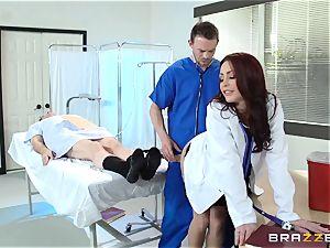 fabulous doc Monique Alexander plows her trainee
