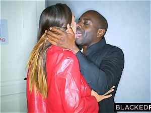 BLACKEDRAW big-chested stunner Gets bbc On A ultra-kinky Night