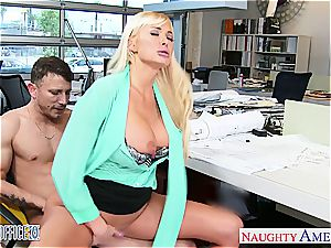 Summer Brielle at the office down for a good hookup