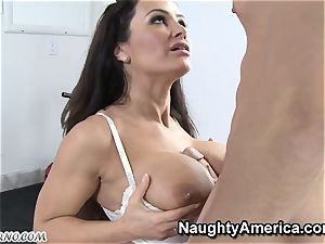 corporal Education lessons with busty mummy Lisa Ann