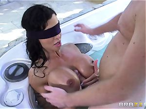 OMG! I ravaged my best friend's huge-chested mischievous mommy clits Jade