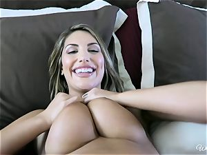 August Ames and Kenna James getting sweet on cam