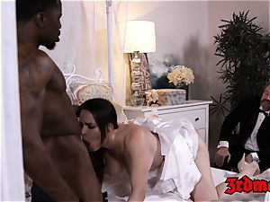 hotwife cougar biotch Dana big black cock beaten