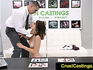 Joseline Kelly restrained while adoring weenie