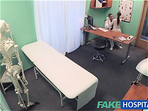 FakeHospital doctor gets gorgeous patients cunt raw