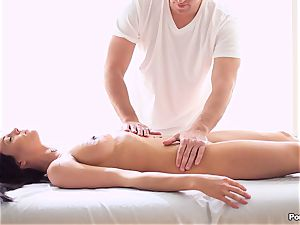 Rahyndees oily massage table drilling