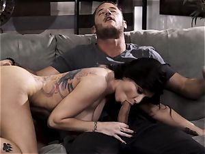 A tiny too late part four - big-titted Romi Rain