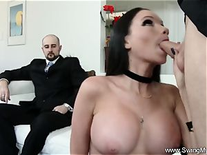 Exotic Swinger wife nails Another boy