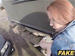 fake Cop Unfaithful girlfriend feels the intensity