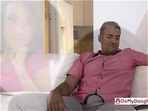Shae and Ariana are seduced by each others crazy step-dad