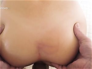 point of view - cool superstar Joseline Kelly slammed in her taut pussylips