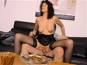 xxx OMAS - hardcore screwing with German mature woman
