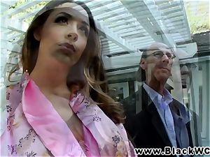 Chanel Preston boinked and facialised by Lexinton Steele