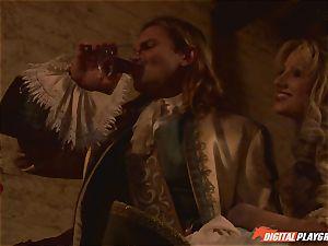 Pirate jams his stiff meat sword into Devon and Teagan Presley