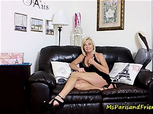 cum on Mommy's tits with Ms Paris Rose