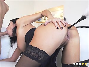 Maid Anissa Kate getting her sweet culo romped by a huge fuckpole