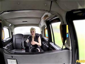 faux taxi molten spunky tough backseat lovemaking