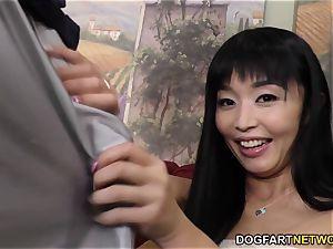 Marica Hase bbc rectal with Mandingo