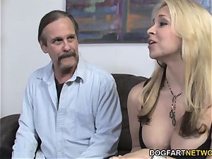 Sarah Vandella Takes bbc testicles Deep - hotwife Sessions