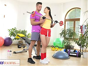 sport rooms hard-core gym fucking and facial cumshot