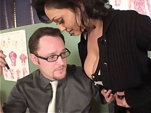groaning and bellowing Priya Rai popped in the honeypot by headteacher