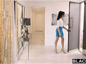 BLACKED Spanish nubile Can't stand against Mandingo's bbc