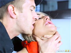 Frustrated wife Kayla Green gets Danny Ds phat penis