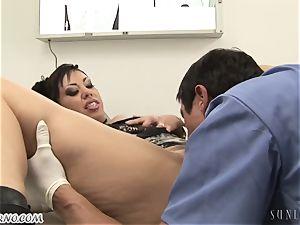steamy mature female Satine Phoenix takes doctor's a yam-sized manhood