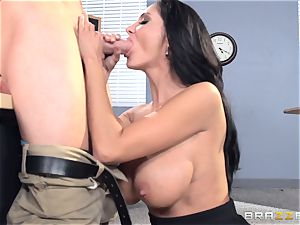 huge-chested tutor Ava Addams is screwed by her schoolgirl