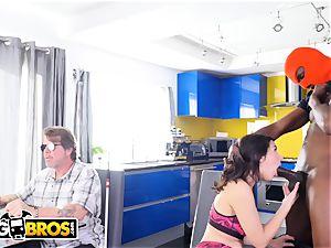 BANGBROS pawg Valentina Nappi nailed By ebony Invader