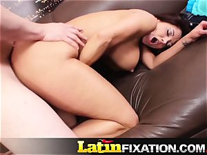 LatinFixation Ava Addams guzzle edible spunk