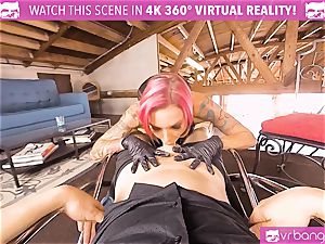 VRBangers.com chesty mummy humped hard By her Costumer